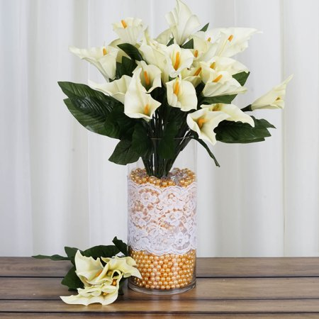 balsacircle 84 silk calla lily flowers for wedding bouquets centerpieces. Black Bedroom Furniture Sets. Home Design Ideas