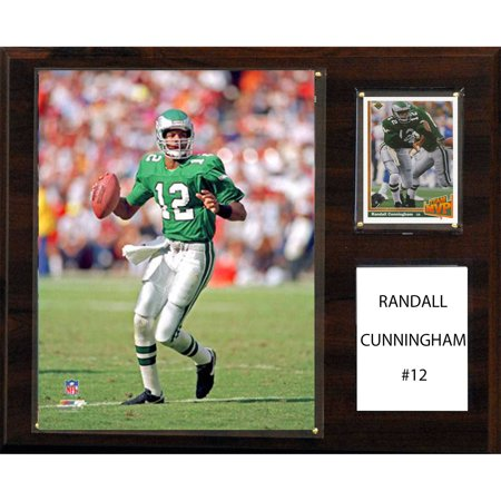 C&I Collectables NFL 12x15 Randall Cunningham Philadelphia Eagles Player Plaque