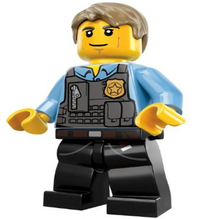 LEGO Chase McCain City Undercover Minifigure 2013 (60007 ...