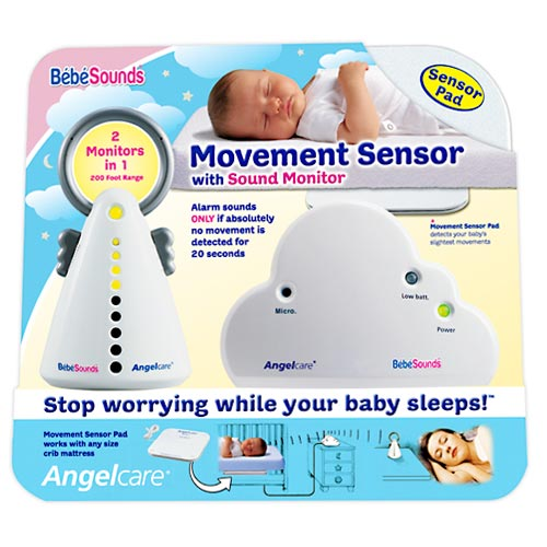 BebeSounds Angelcare Movement Sensor & Sound Monitor