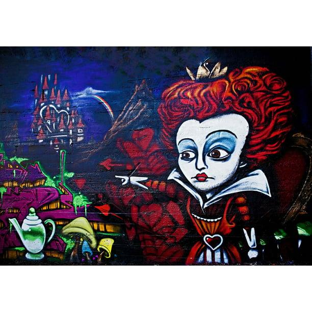 Bansky Hi Beauty Fool Canvas Or Print Wall Art Walmart Com Walmart Com