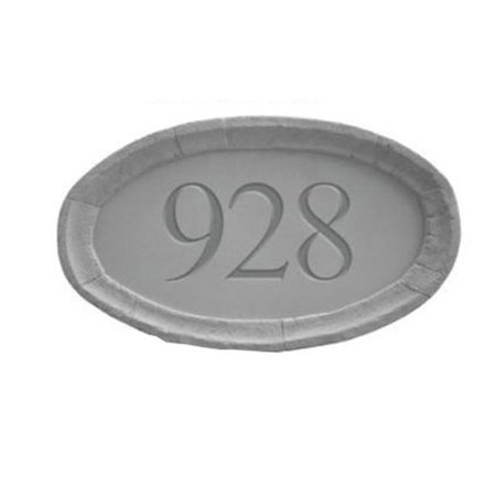 Kay Berry 33110 Address Plaque from Stone - Oval - image 1 of 1