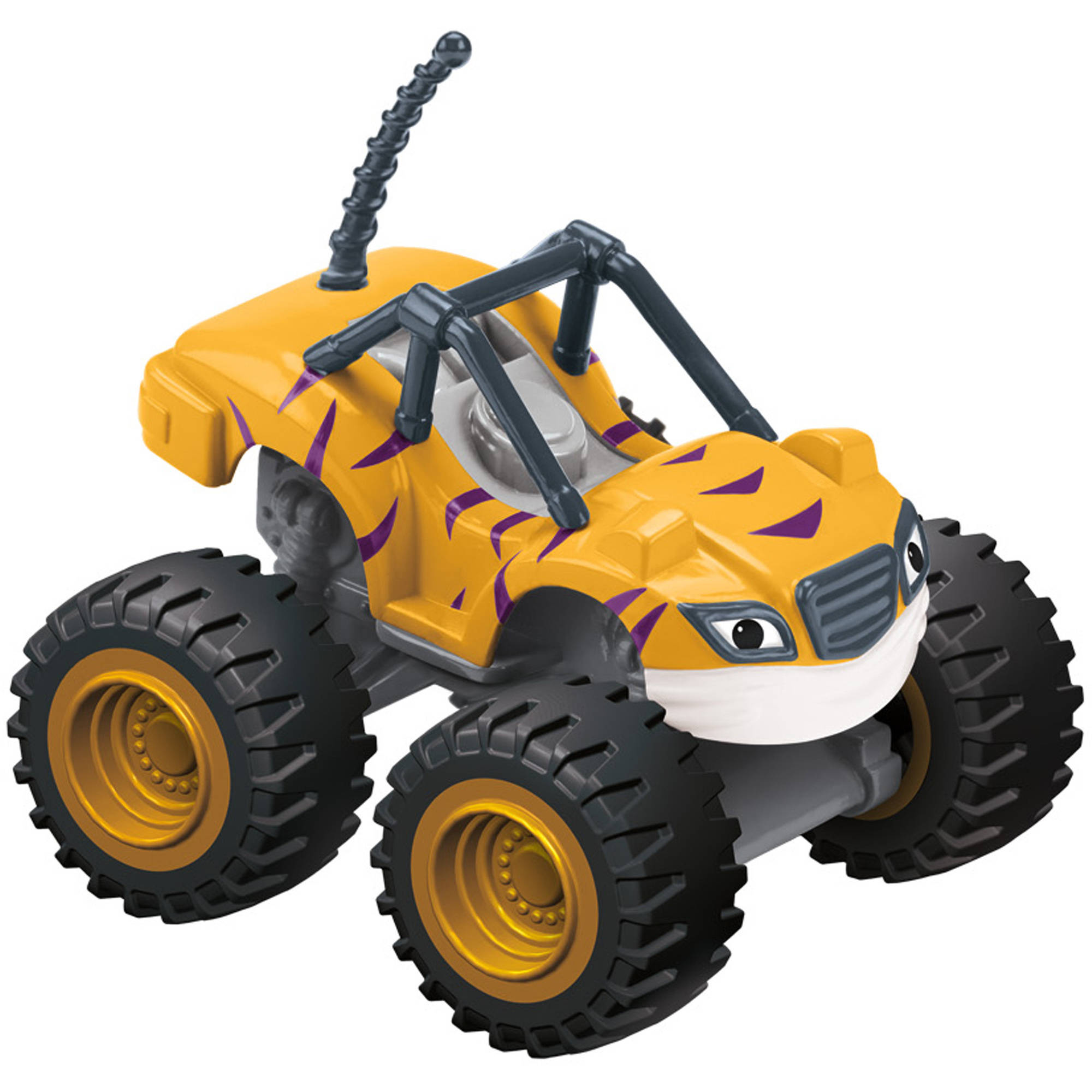 Nickelodeon Blaze and the Monster Machines Blaze Stripes Basic Vehicle