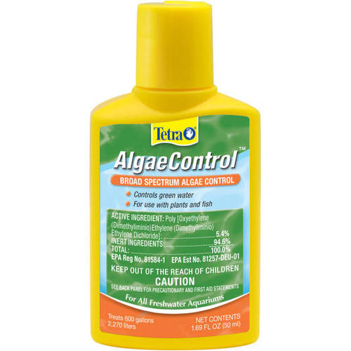 Tetra Algae Control Water Treatment for Plants & Fish, 1.69-Ounce
