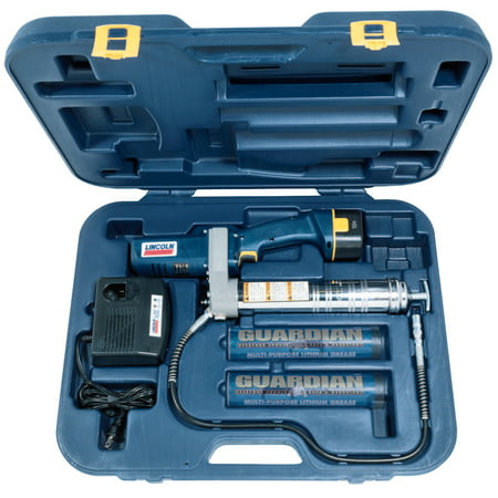 Lincoln 1242 - Power Luber 12 Volt Battery Operated Grease Gun With