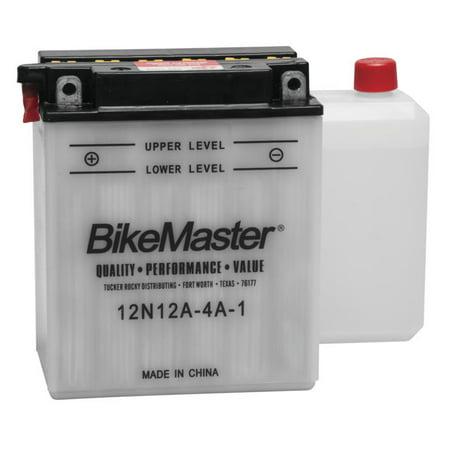 BikeMaster Conventional Battery 12N12A-4A-1 for Yamaha XJ650 Maxim 1980-1983 (Yamaha Xj650 Maxim)