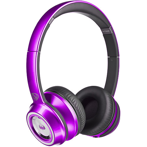 Monster Ncredible Ntune On-Ear, ControlTalk Universal - Candy Purple