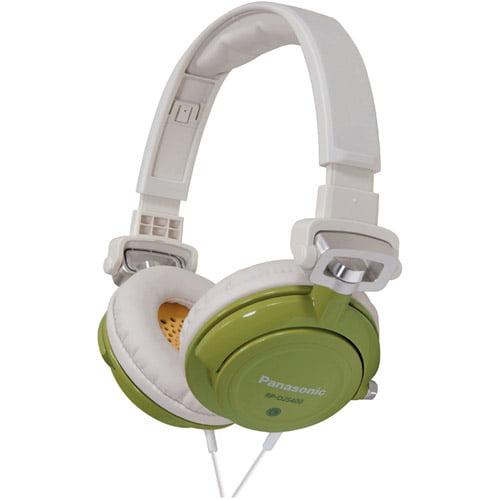 Panasonic RP-DJS400 - Headphones - full size - wired - 3.5 mm jack - gray, orange