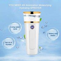 Greensen Cool Mist Sprayer 35ml Facial Nano Mister Handy Moisturizing Hydrating Mist Spray Skin Beauty