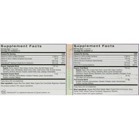Natrol JuiceFestiv Combination Tablets, 240 Ct