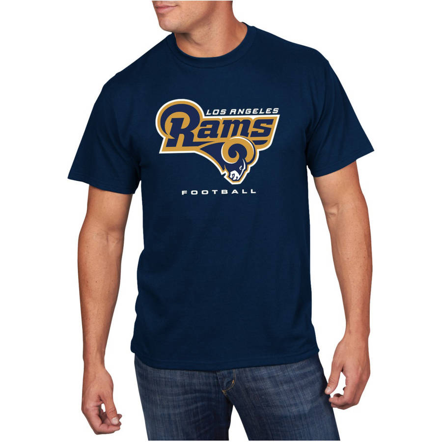 NFL Big Men's Los Angeles Rams Short Sleeve Tee