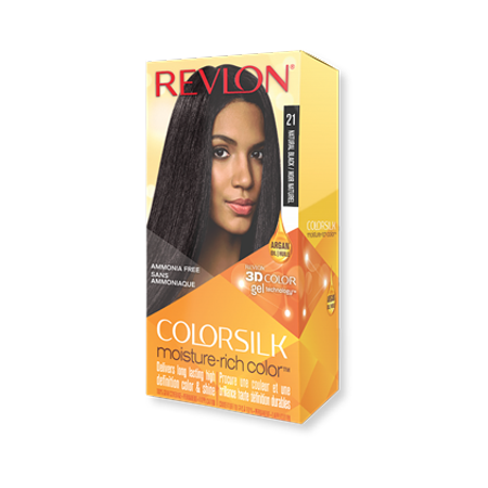 Revlon Color Silk Moisture-Rich Color Hair Color, Natural