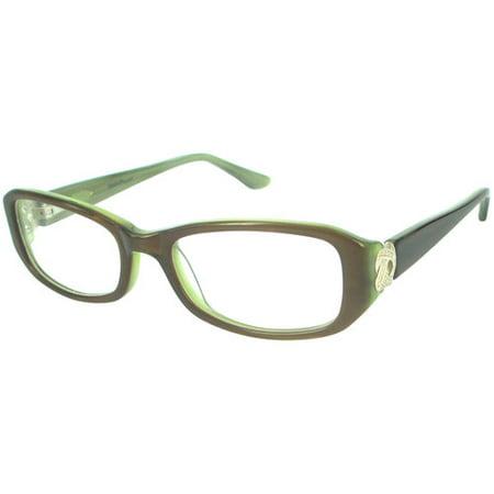I Green Eyeglass Frames : Nolita Mood Womens Rx-able Eyeglass Frames, Green ...