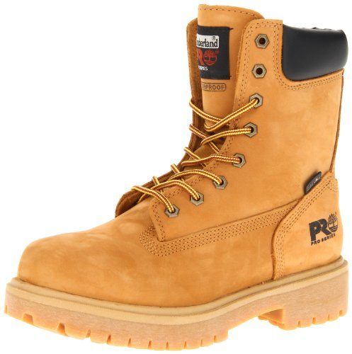 "Timberland PRO Men's Wheat 26011 Direct Attach 8"" Soft-Toe Boot,Yellow,9 W by Timberland PRO"