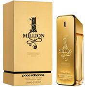 Paco Rabbane One Million Pure Parfum Spray for Men 3.4 oz