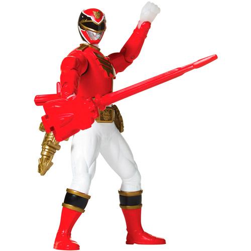 Power Rangers Battle Morphin Red Ranger Action Figure