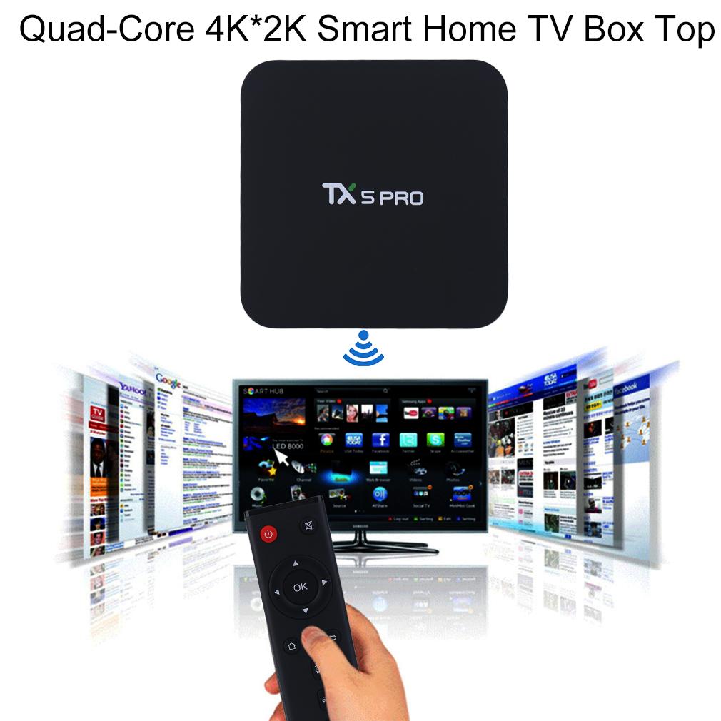 TX5 PRO Amlogic S905X Quad-Core 4K*2K Smart Home TV Box
