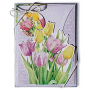 Lissom Design 11026 Pop-up Folded Notecard - SE