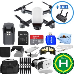 DJI Spark Quadcopter EXTREME ALL YOU NEED PROFESSIONAL 1 BATTERY (TOTAL) BUNDLE