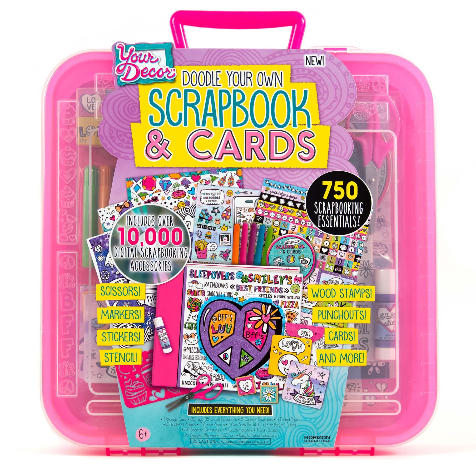 How to scrapbook faster - Your Decor Scrapbook Amp Cards Kit By Horizon Group Usa Walmart Com