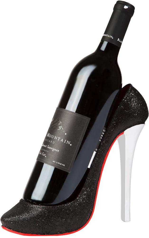 High Heel Wine Bottle Holder Stylish Conversation Starter Wine Rack By KitchInspirations... by KitchInspirations
