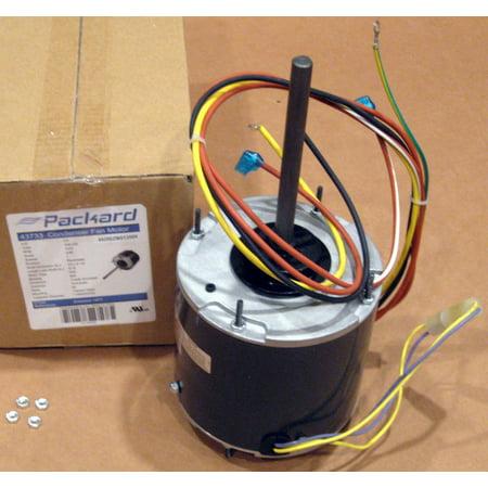 Air Conditioner Motor (3733 1/3 hp 1075 RPM 230V Air Conditioner Condensor Fan Motor)