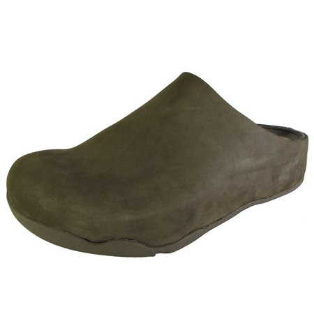 79a3645f0a7 FitFlop - Mens Shuv Slip On Clog Shoe - Walmart.com