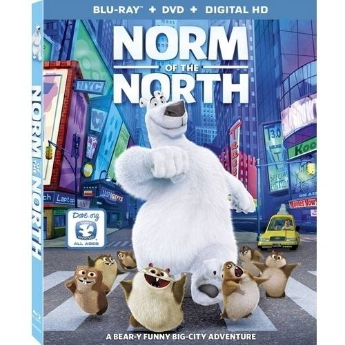 Norm Of The North (Blu-ray + DVD + Digital HD) (With INSTAWATCH)