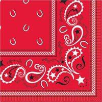 Western Luncheon Napkins (16 Pack) - Party Supplies