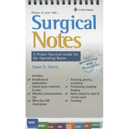Operating Guide - Surgical Notes : A Pocket Survival Guide for the Operating Room