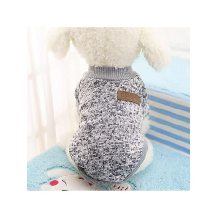 Sweetsmile Pet Dog Jacket Autumn Winter Clothes Puppy Warm Sweater For Small Dogs