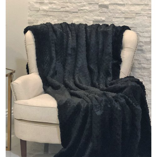 Everly Quinn Forgey Mink Luxury Throw