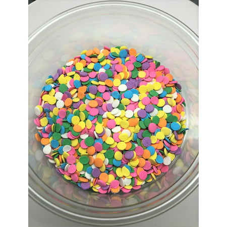 Bakery Topping - Confetti Pastel Shapes Bakery Topping Sprinkles 1 pound