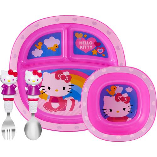 Munchkin Hello Kitty Toddler Dining Set, BPA-Free