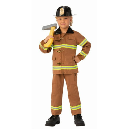 Child Junior Fireman Costume - Halloween Fireman Costume