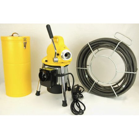BLUEROCK Model S75 Sectional Pipe Drain Cleaning Machine 3/4