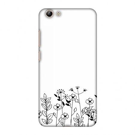 Vivo Y69 Case - Floral Bunch, Hard Plastic Back Cover, Slim Profile Cute  Printed Designer Snap on Case with Screen Cleaning Kit