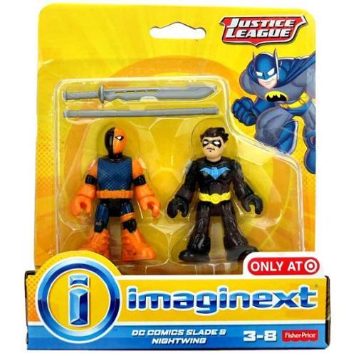 Justice League Imaginext Slade & Nightwing Mini Figure Set