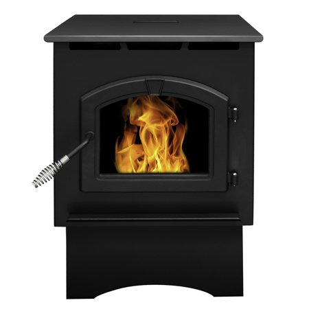 - Pleasant Hearth 35,000 BTU Medium Pellet Stove