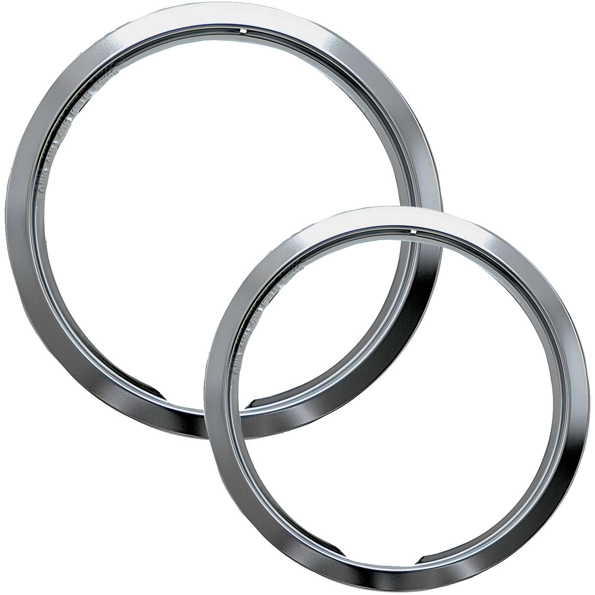 Range Kleen 2-Piece Trim Ring, Style E fits Hinged Electric Ranges Amana/Frigidaire/Maytag/Whirlpool, Chrome