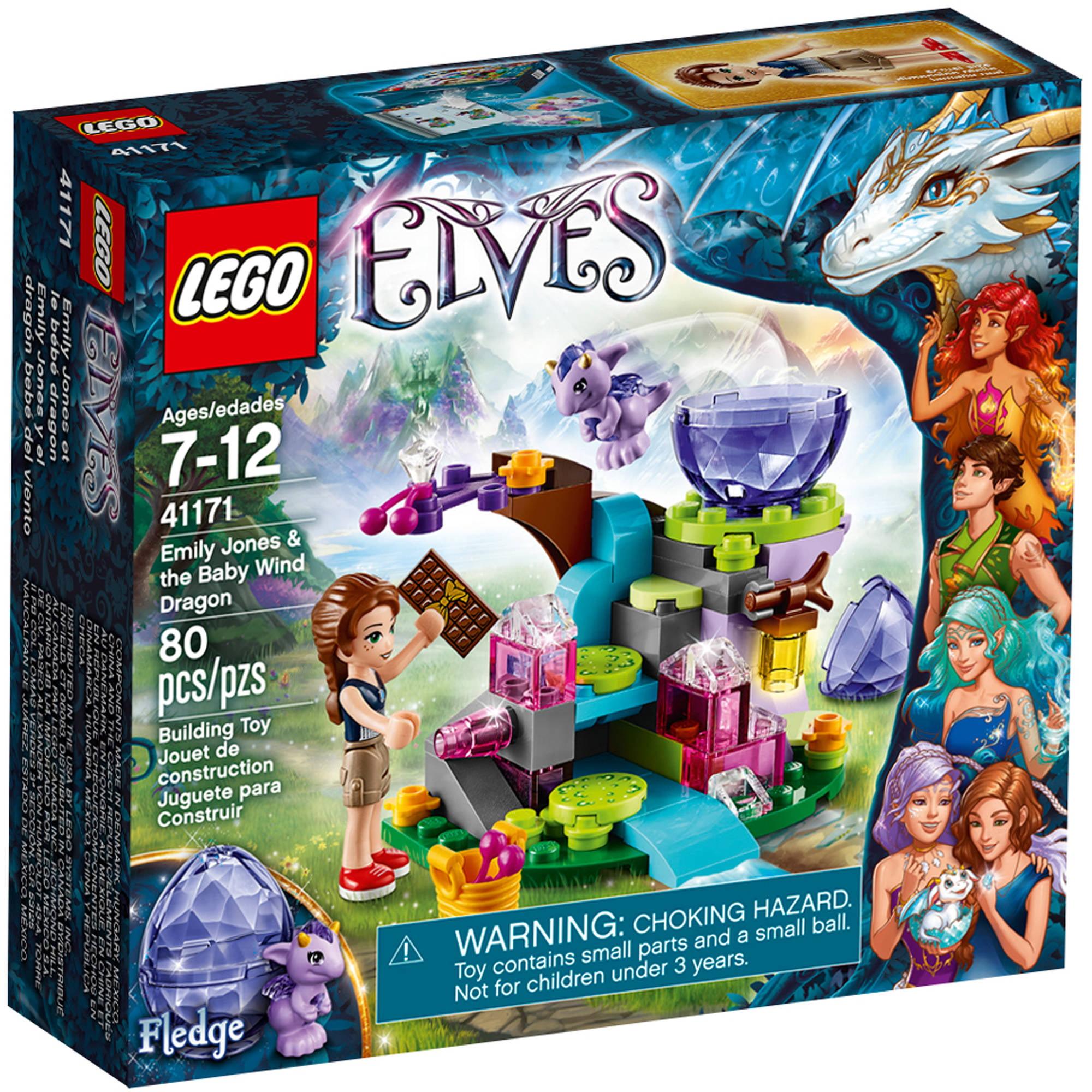 LEGO Elves Emily Jones & the Baby Wind Dragon, 41171