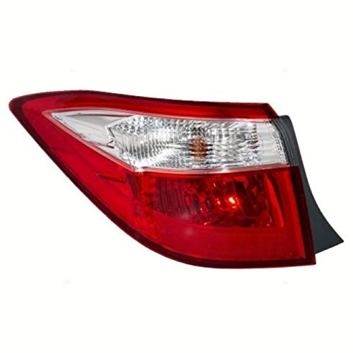 Tail Light - Cooling Direct Fit/For TO2804118 14-16 Toy Corolla Tail Lamp Assembly Lh Outer - On Body CAPA
