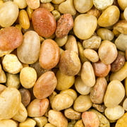Estes' Natural Shallow Creek Pebble Gravel 5 Lbs X 5 Count