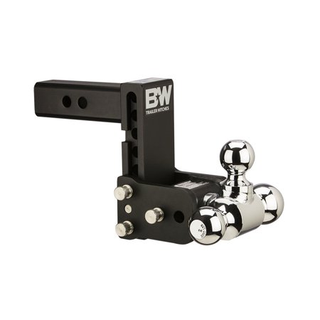 B&W Trailer Hitches TS10048B Tow & Stow Magnum Receiver Hitch, Fits Standard 2
