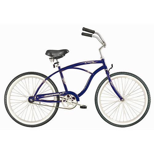 """26"""" Micargi Pantera Men's Beach Cruiser Bike, Dark Blue"""