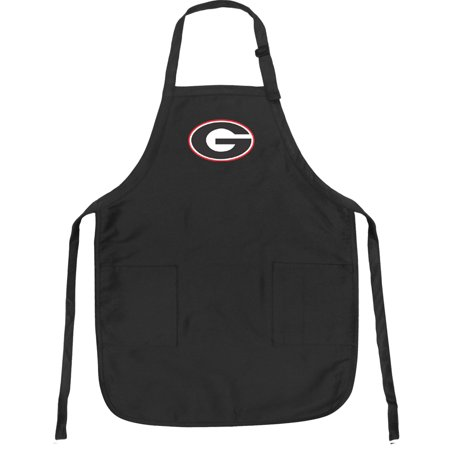 Bulldog Apron - Broad Bay Georgia Bulldogs Apron DELUXE University of Georgia APRONS for Men or Women - Grilling, Kitchen, or Tailgating