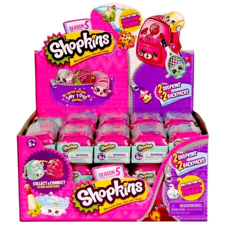 Tiny Hands Toy (Shopkins Season 5 Blind Mystery 2-Pack Set Case of 30 Limited Ed Tiny Toys Moose)