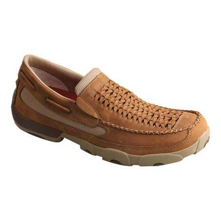 ee502295ae2 Twisted X - Twisted X Men s Slip-on Driving Moccasins Distressed Saddle  MDMS013 - Walmart.com