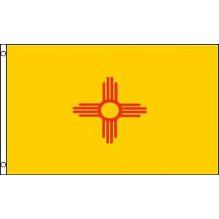 3x5 New Mexico Flag NM State Banner Pennant Indoor Outdoor 3 by 5 Foot