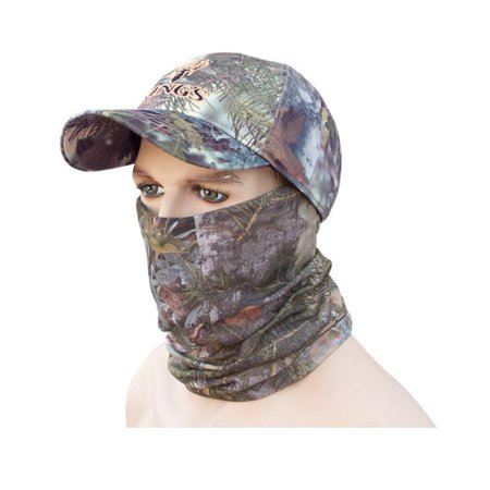 King's Camo Head and Neck Hood Gaiter Mask Mountain Shadow